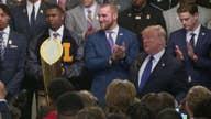 Trump celebrates LSU Tigers' championship victory