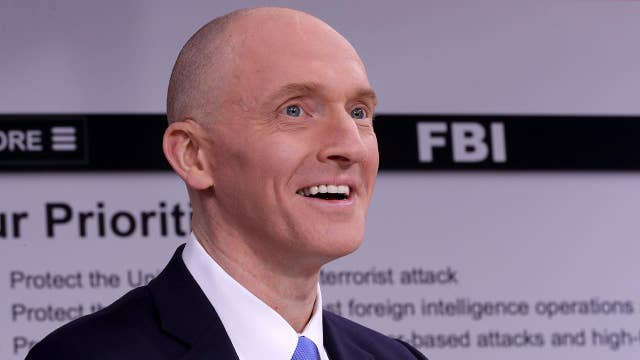 Carter Page sues DNC, law firm over dossier: Report