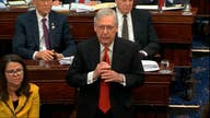 Debate underway on the McConnell trial framework resolution