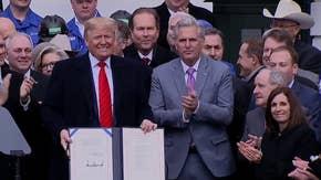 President Trump signs USMCA into law