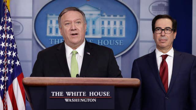 Pompeo: We want Iran to behave like a normal nation