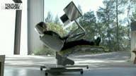 $7,500 'zero-gravity' desk lets you work horizontally