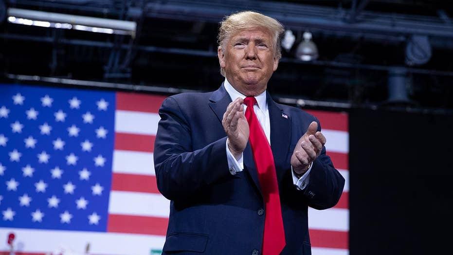 Trump promoting religious freedom