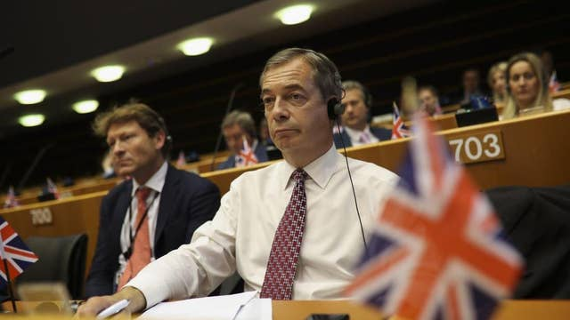 European Union is continuing policy of appeasing Iran: Nigel Farage