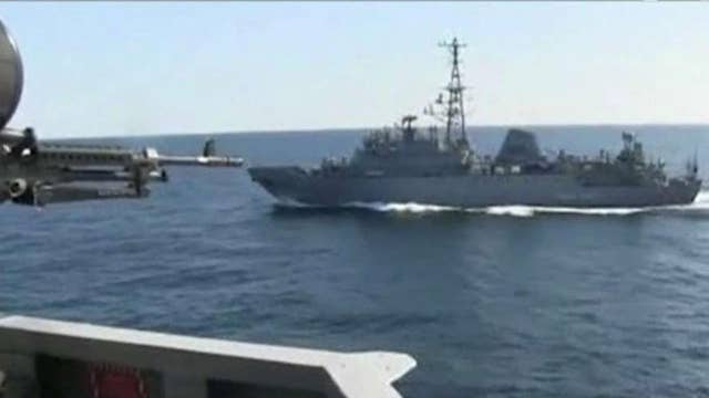 Russia spy ship approached US destroyer in North Arabian Sea