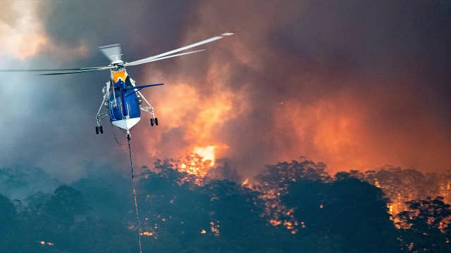 American, Canadian firefighters travel to Australia to help with wildfires