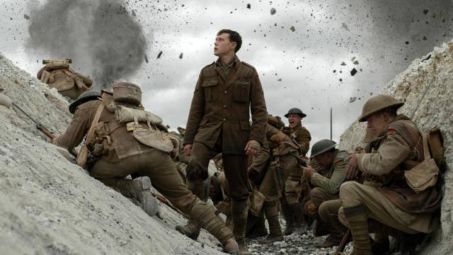 Golden Globe's best motion picture drama '1917' filmed, edited to look like 'one shot'