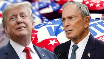 Trump taunts Bloomberg, claims he's intentionally avoiding Dem debates
