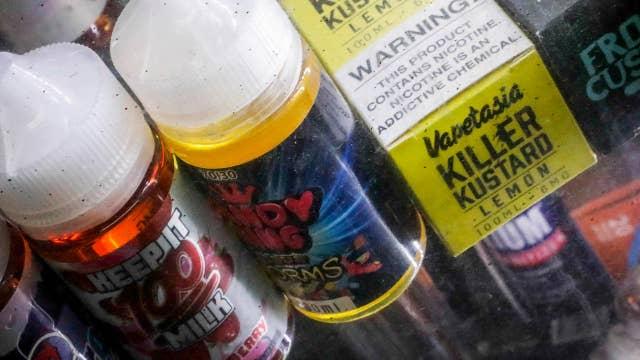 FDA bans fruit, mint flavored e-cigarette cartridges