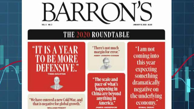 Barron's roundtable is 'cautiously optimistic' about 2020