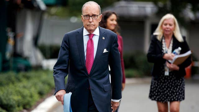 Kudlow: US is 'very fully employed'
