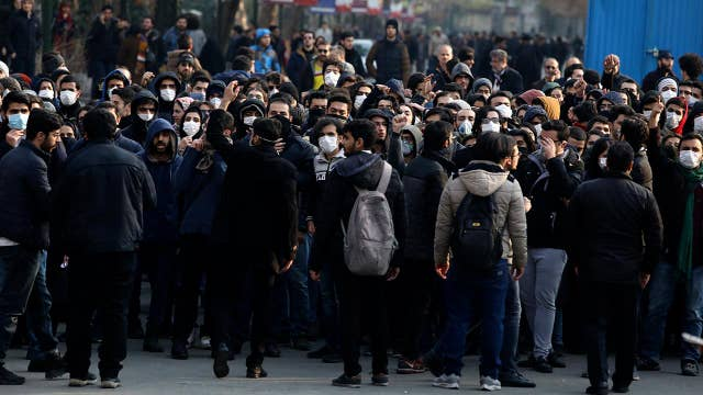 Women at the front of Iran protests