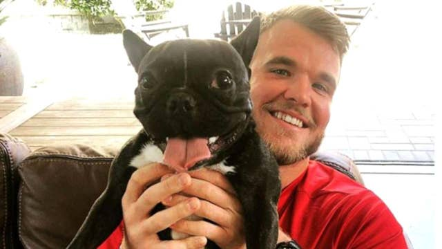 The 49ers Frenchie assists with emotional support