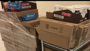 Senate receives Hershey's delivery of 700 lbs of candy to restock candy desk