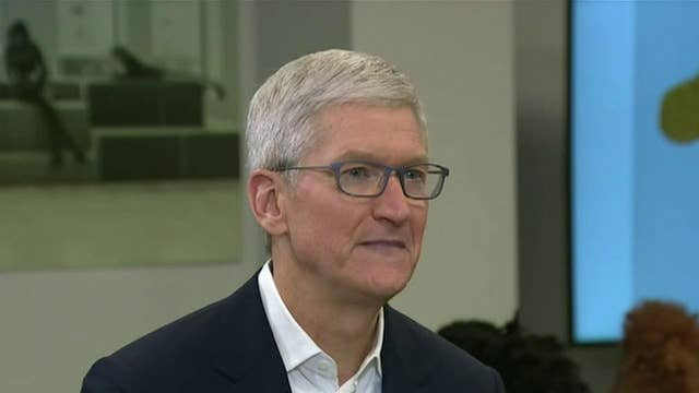 Apple CEO Tim Cook: Trump and I both care about creating jobs