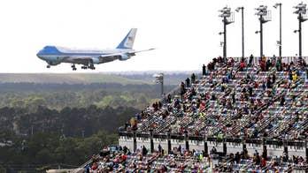 Daytona 500 set to restart after Trump's Air Force One flyover