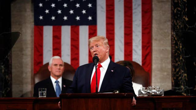 Trump calls to 'rebuild America's infrastructure' during State of the Union