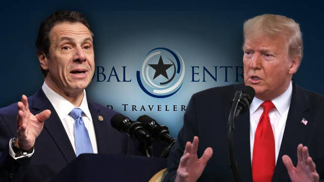 New York will give federal government DMV database access for global entry: Gov. Andrew Cuomo