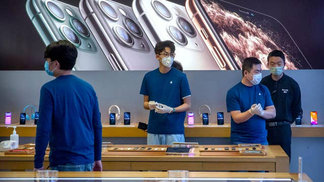 Apple cuts sales targets over coronavirus; Pier One files for bankruptcy