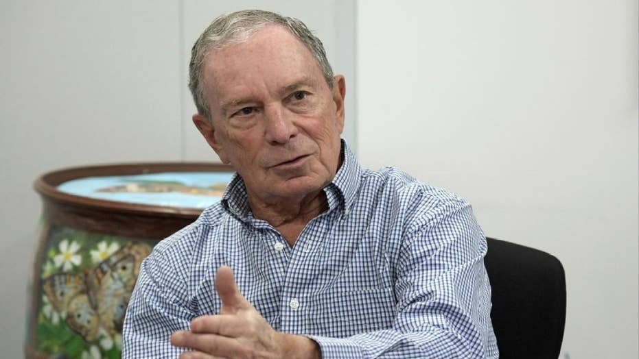 Can Bloomberg buy the Democratic nomination?