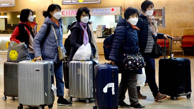 Travel industry down on coronavirus fears