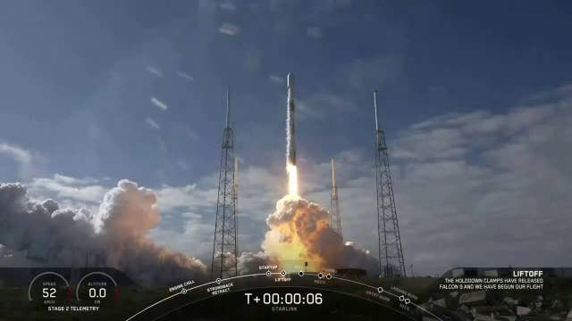 SpaceX launches new Starlink satellites in orbit