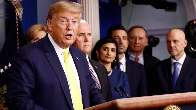 Trump: Coronavirus briefing Tuesday will have 'major' economic announcement