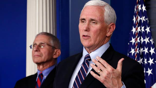 Pence: American businesses fighting coronavirus is 'truly inspiring'