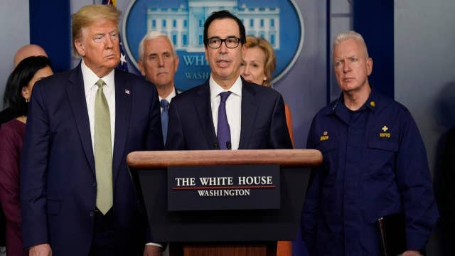 Mnuchin: Will deliver $1,000 checks to Americans within 3 weeks