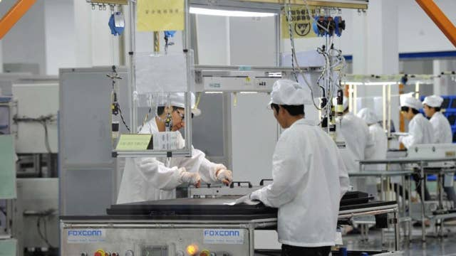 Foxconn factories in full production