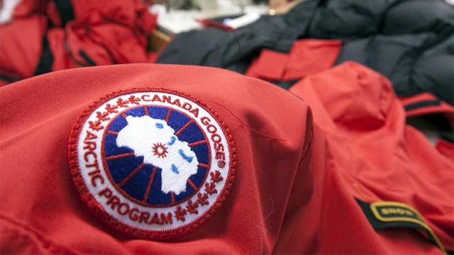 Canada Goose making patient gowns, medical scrubs