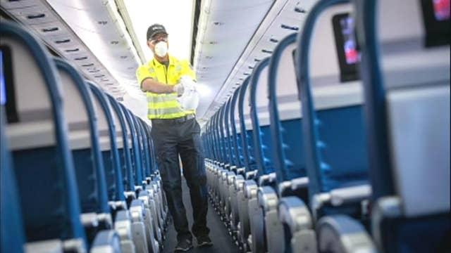 Delta fogging aircraft to combat coronavirus