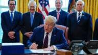 Trump commends bipartisan effort to get coronavirus stimulus bill done