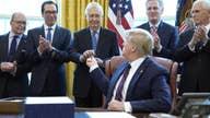 Lou Dobbs salutes Trump, Congress for signing coronavirus relief bill