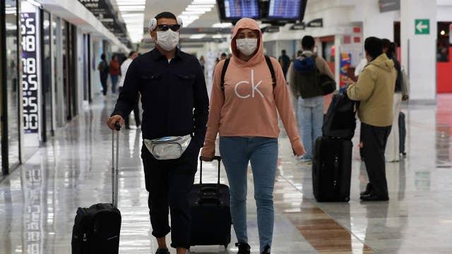 Coronavirus screenings spark airport chaos