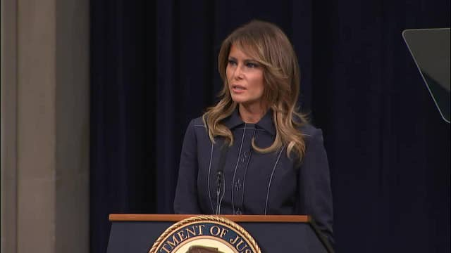 Melania Trump: Opioid deaths on decline for first time in 29 years