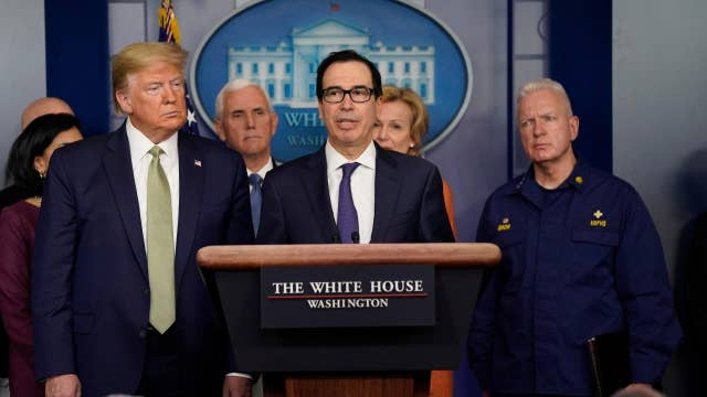 Mnuchin: Working to get small businesses money fast