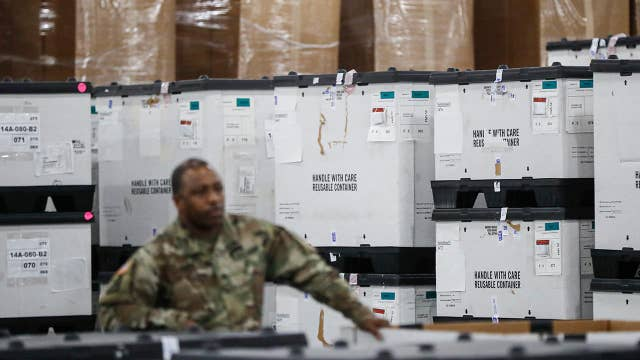 Javits Center becomes coronavirus hospital with help from National Guard