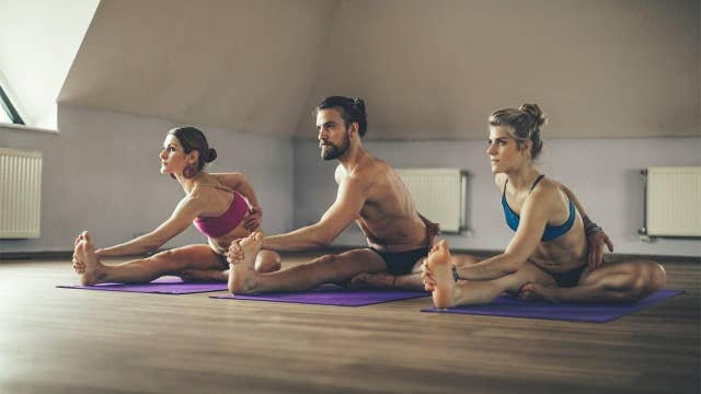 Yoga studio sees surge in online class participation