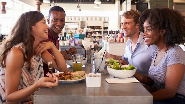 Is it safe to eat at restaurants?