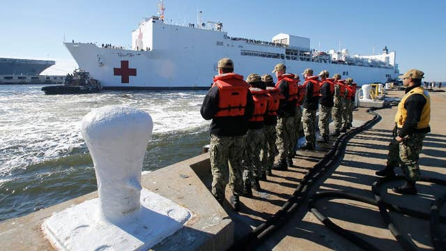 Cuomo: Floating hospital being sent to New York City harbor