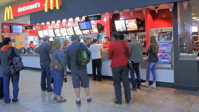 McDonald's closes US dining rooms