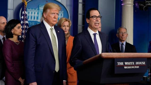 White House economic stimulus legislation moving fast