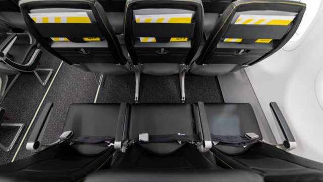Airlines testing larger middle seats on planes