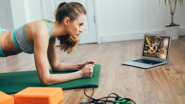 Coronavirus quarantines causing home fitness programs to skyrocket