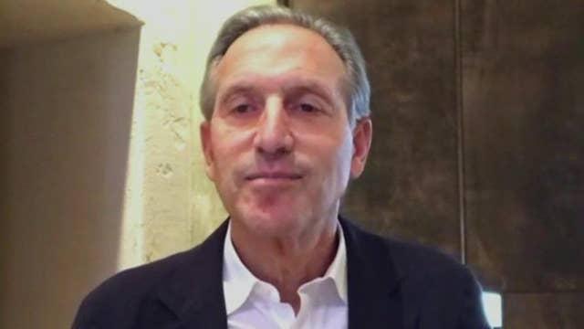 Economic carnage of coronavirus 'apocalyptic': Former Starbucks CEO Howard Schultz