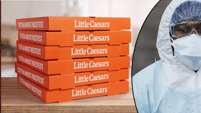 Little Caesars donating 1M pizzas to coronavirus health care workers