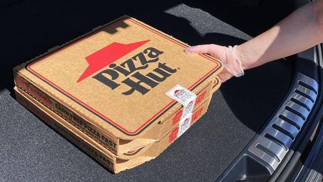 Pizza Hut president: Temperature checks, plexiglass shields in restaurants ensure we're 'safest place to eat'
