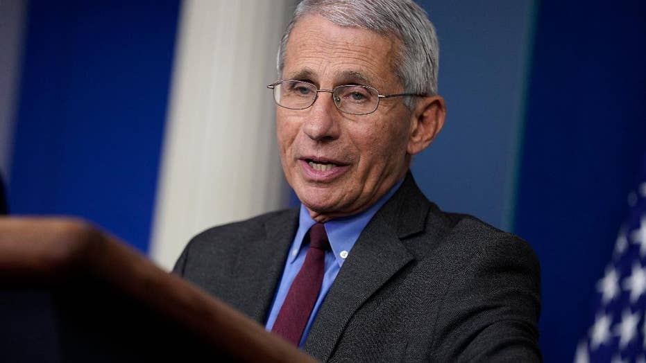 Dr. Fauci: This is not the time to be pulling back