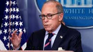 Kudlow: Decreased coronavirus case rates should be a positive economic sign